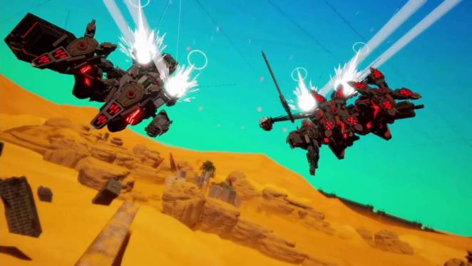 Daemon X Machina from the 9/4 Direct