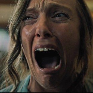 toni collette screaming with terror