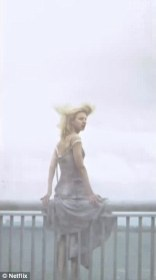 Prairie turns before leaping off the bridge in The OA