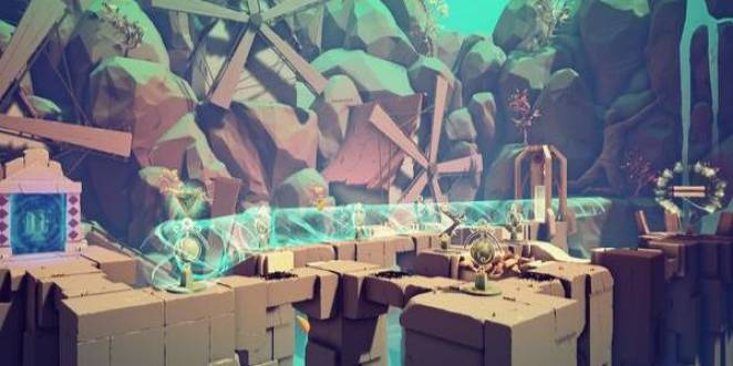 a screenshot of a puzzle with the sojourn game