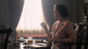 The Queen has morning tea