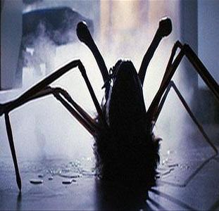The thing a spider like alien creature