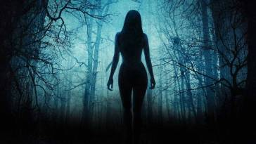 The VVitch wanders naked into the woods
