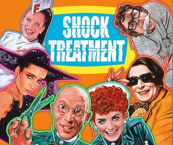 The Shock Treatment dvd cover