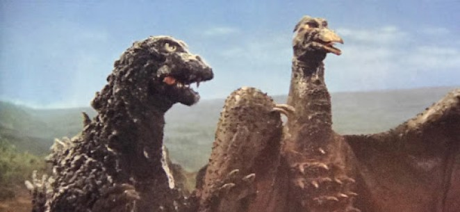 Godzilla and Ghidorah