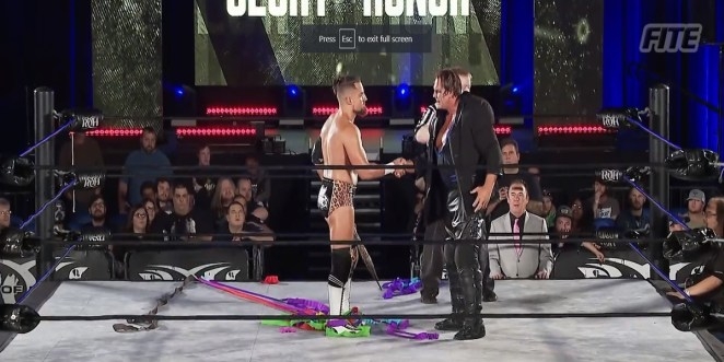 Marty Scurll And PCO Shake Hands Before Their Final Match To Become #1 Contender For ROH World Championship