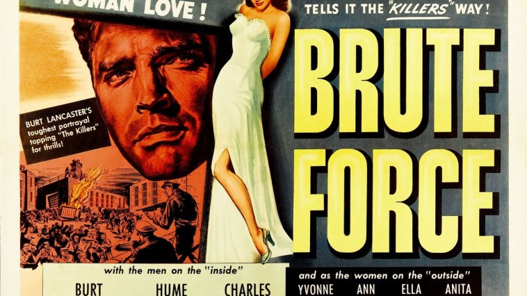 movie poster for Brute Force