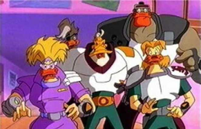Ducks from Disney's Mighty Ducks