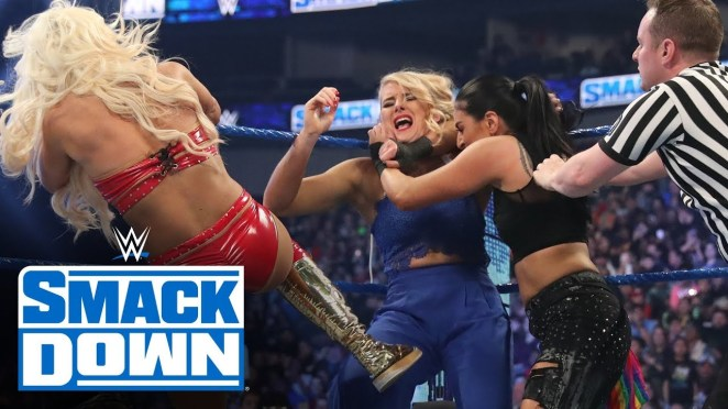 Lacey Evans Beat Down