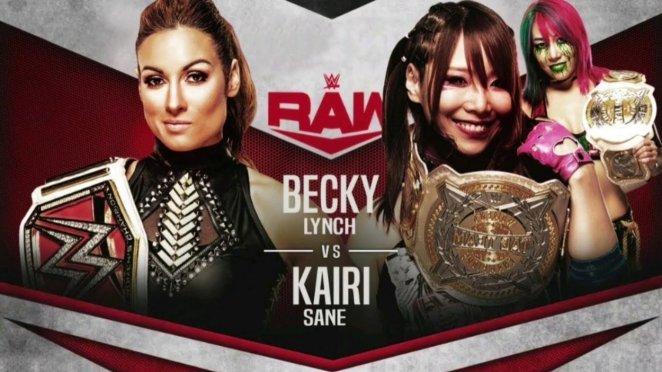Becky Lynch vs. Kari Sane