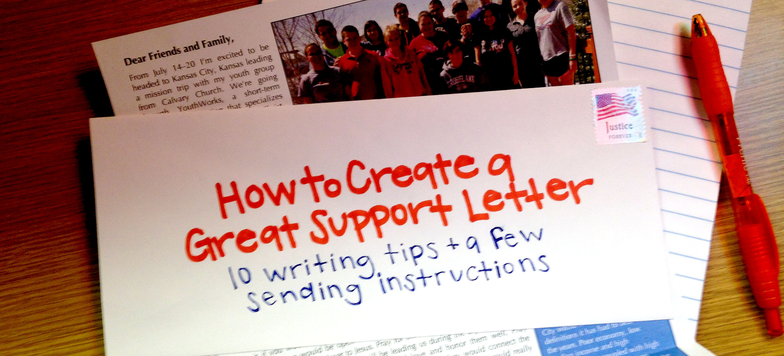 How To Create A Great Support Letter