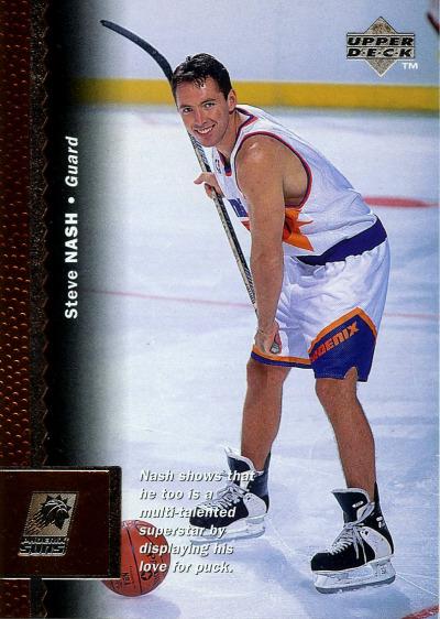 Kicks on Cards Weekend kicksoncards: Steve Nash - Ice skates