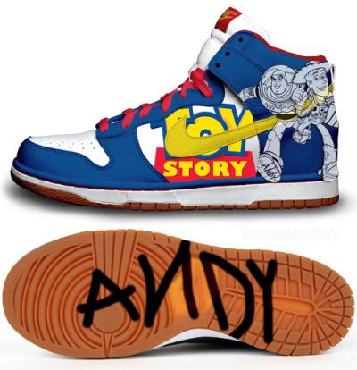Buzz Lightyear Nike Dunks