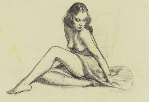 I have a Gil Elvgren pin up tribute tattoo done by Oliver Peck at Elm Street