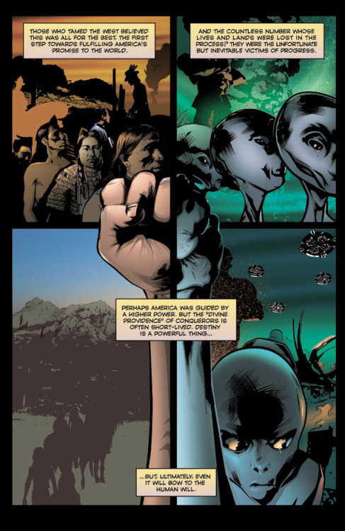 Cowboys and Aliens the comic book