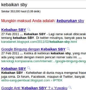 ► Mungkin maksud Anda adalah: keburukan sby ^_^ - dari juriglagu
