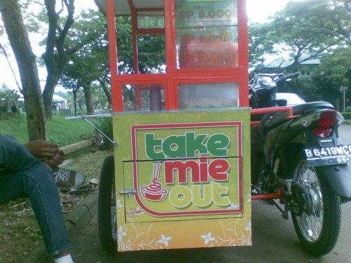 Take mie out - dari juriglagu