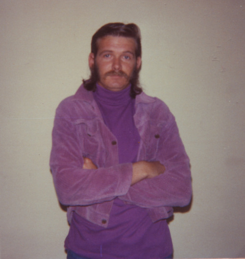 Your dad was into American Apparel before you and he has the monochromatic pimp get ups to prove it. He was an all balls, no helmet kind of man that knew what full commitment looked like, and it looked god damn turbo hard. Bathed head to toe in the freshest royal Pantone swatches, he was known for fist slapping anyone who had the stones to step up and called him lavender. He was the King of single color outfit and he wore your mom like a crown.So hipsters, next time you're listening to Sleigh Bells in the dressing room while trying to look indifferent in the mirror, remember this…If millions of hipsters shop at the same store, doesn't that make the store mainstream? Thanks to Yasmin for another great photo submission.