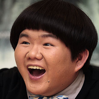 The most famous Asian with a bowlcut.