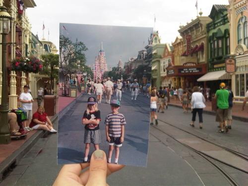 Dear Photograph,  Disney will always be magical, no matter what age.  Leslie Kalbfleisch
