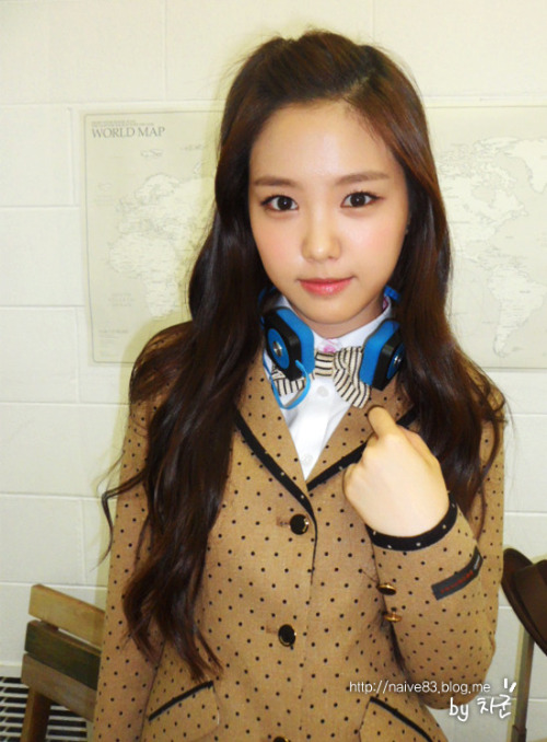 [ENDORSEMENT] Naeun Uniform Sponsor  Credits: A Pink's Daum Cafe