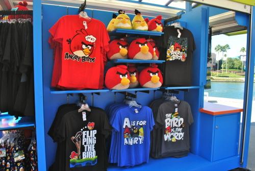 Angry Birds tshirt shop