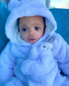 Ex-BBNaija Star Nina Ivy Shares Adorable Pictures Of Her Son.