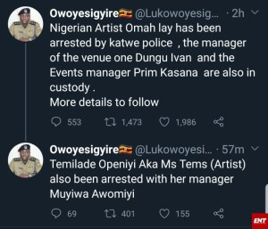 Singer Omah Lay Has Been Arrested In Ugand
