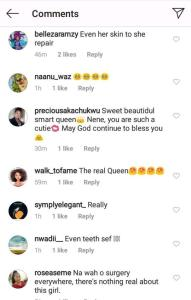 """""""You did dental surgery"""" – Fans accuses Nengi after her old photo surfaces online."""