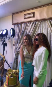 Photos from the 30th birthday celebration of Billionaire Ned Nwoko's Moroccan wife, Laila