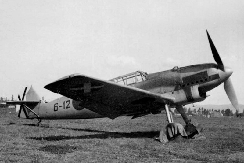 The Spanish Civil War provided a nearly ideal testing ground for the new fighter, and its pilots. (Museo del Aire-Madrid)