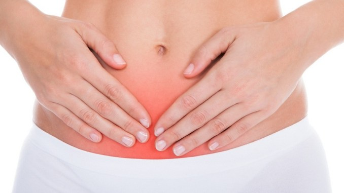 Pelvic pain after drinking alcohol