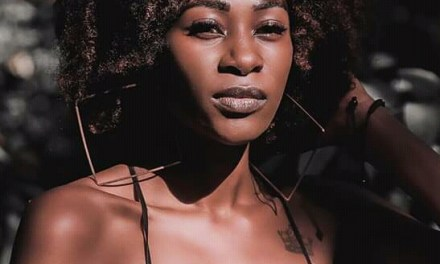 Model Trimmie Chitedze campaigns for Miss Pan African Queen 2020 votes