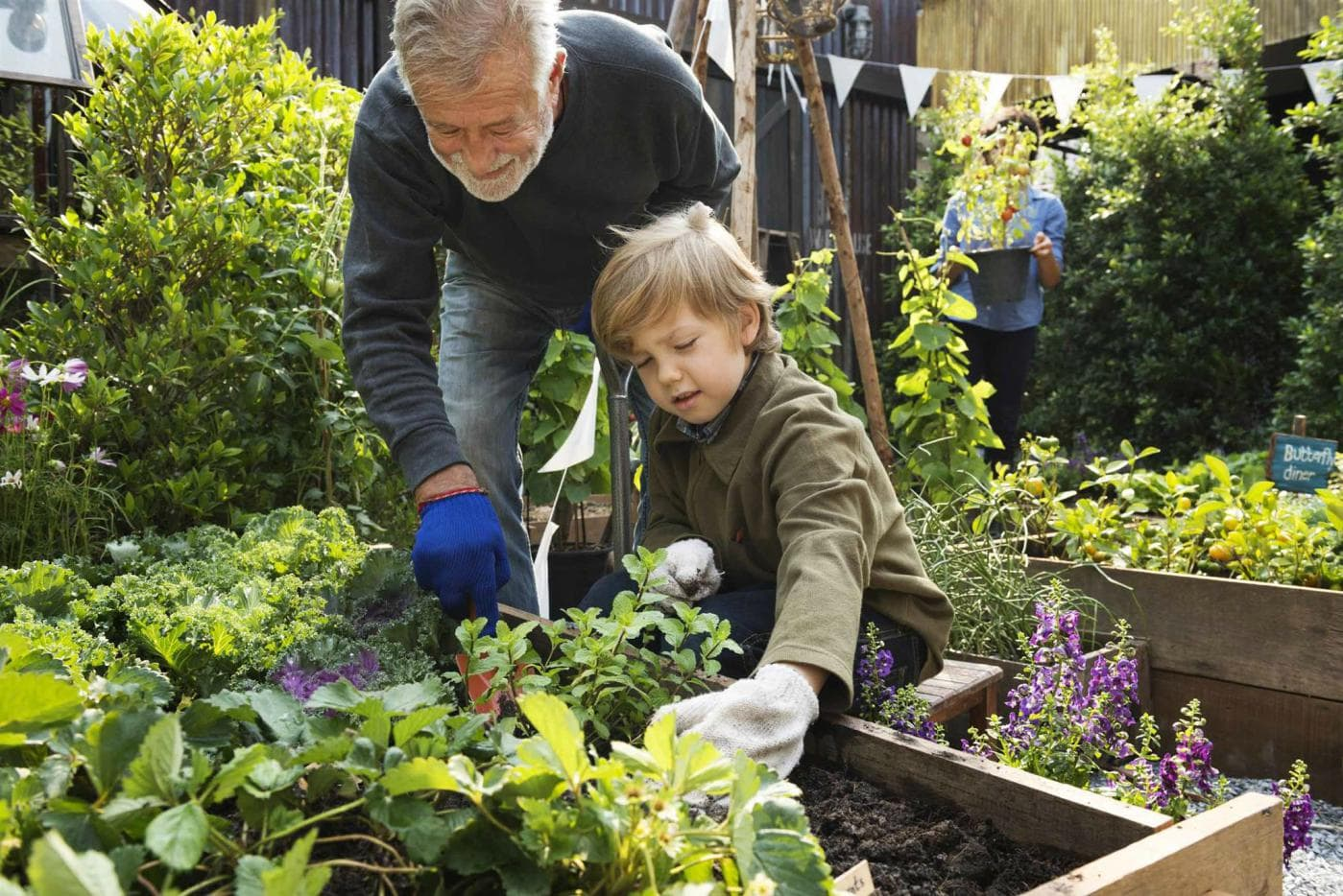Growing With Kids The Magic Of Gardening