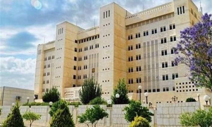 سوريا تندد بالممارسات الصهيونية بحق المسجد الأقصى والمصلين فيه