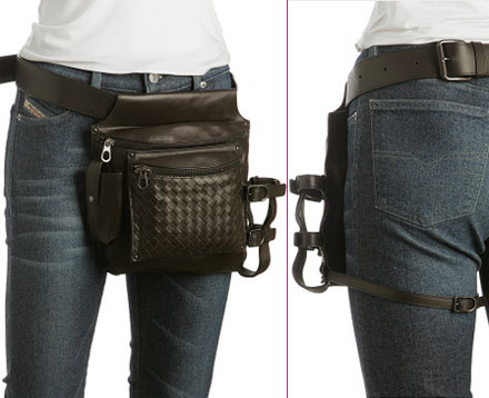 Neo-cowboy fanny pack