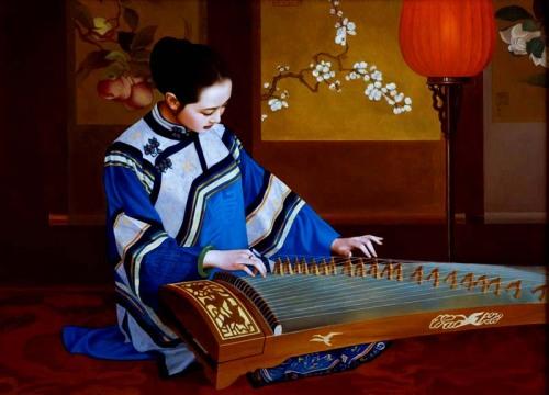 The music by Xue Yanqun