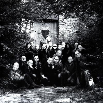 billyjane:  Andre Breton et al the gate of the Désert janitoroflunacy:Denise Bellon