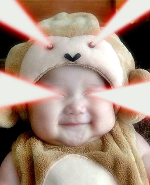 laser baby