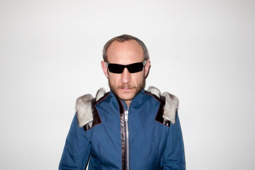 Terry Richardson in his Ocie Colins III jacket