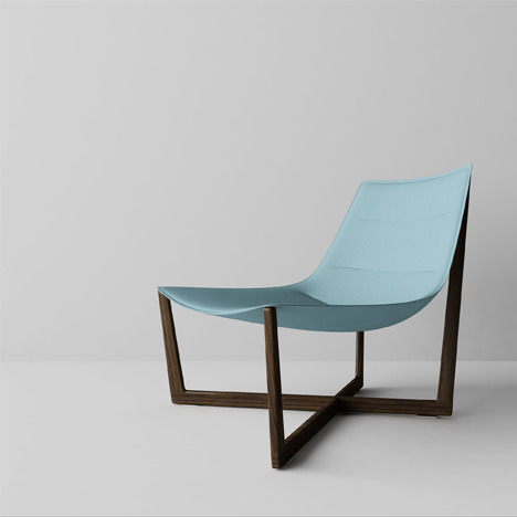 The Saint Tropez lounge chair designed by Christophe Pillet (above), will be launched at the 2010 Milan Furniture Fair.