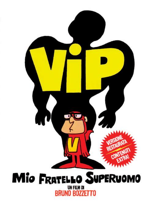 copertina del DVD di Vip mio fratello superuomo