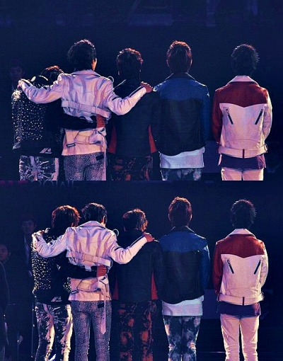 "dubmighty:  taemingoftheshrew:  ♥  my SHINee boys :"")"