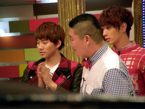 fyjunho:  At Star King recording ^^