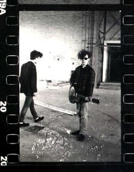 jamcofficial:  Jim Reid & Douglas Hart / The Jesus and Mary Chain / The Factory - East Kilbride, Scotland? / 1984
