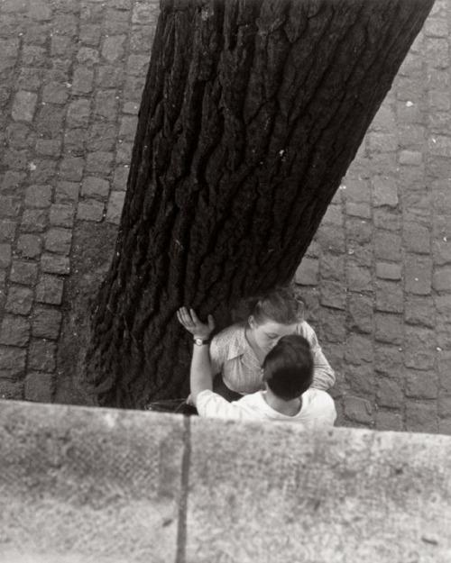 Bords de la seine, Paris, 1949, Izis Bidermanas