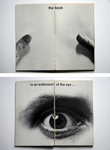 Book is an extension of the eye