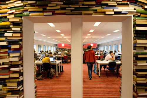 prettybooks: The Reading Room at Eindhoven University of Technology Library, The Netherlands.