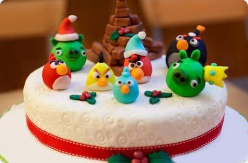 Angry Birds cake 3