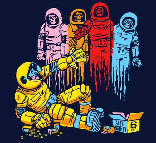 """The Madness of Mission 6"" REPRINTED and only USD$10 in the Threadless sale."